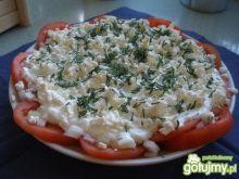 Grecka sałatka pomidorowa