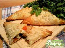 Greckie pierożki z serem feta
