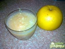 Grejpfrutowy koktajl na przeziębienie