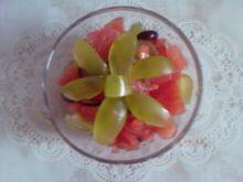Grejpfruty z pomidorami