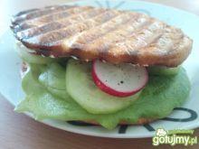 Grillowana kanapka wiosenna