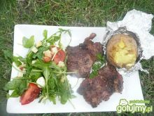 Grillowana karkówka z ziemniakami