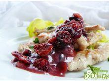 Grillowana pierś z kurczaka z sosem żura