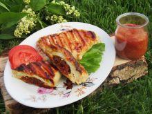 Grillowana pierś z kurczaka z suszonymi pomidorami