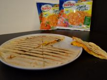 Grillowana pizzo-tortilla dyniowa