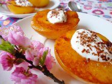 Grillowane brzoskwinie z mascarpone