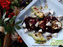 Grillowane buraczki z cukinią i  tofu