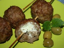 Grillowane kotleciki z serem feta