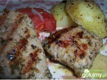 Grillowane madaliony i ziemniaki prowans