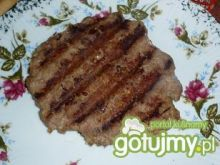 Grillowane mięso do hamburgerów