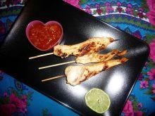 Grillowane piersi z kurczaka po tajsku