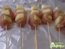 Grillowane polędwiczki z ananasem