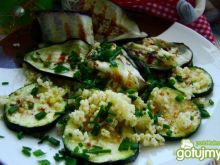 Grillowane warzywa z kaszą jaglaną