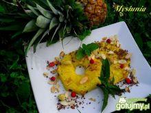 Grillowany ananas w słodkim stylu