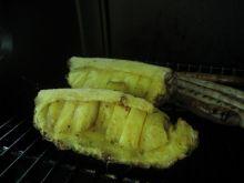 Grillowany ananas w syropie klonowym