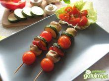 Grillowany kebab warzywny