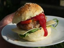 Grillowany hamburger