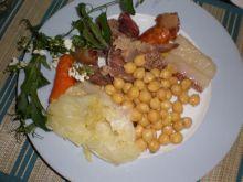 Groch włoski z warzywami i mięsem