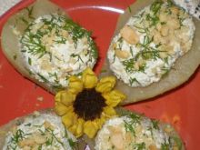 Gruszki faszerowane serem pleśniowym