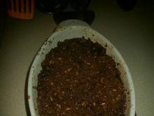 Gruszki pod kakaową kruszonką z musli