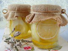 Gruszki z cytryną w syropie