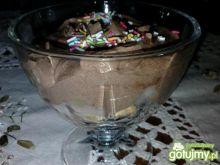 Gruszki z musem czekoladowym