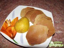 Gruszkowo cynamonowe pancakes