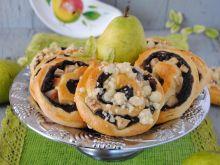Gruszkowo-czekoladowe ślimaczki