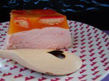 Gruszkowo - truskawkowa pianka