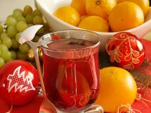 Grzaniec korzenny na imbirowej herbacie