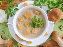 Grzybowa zupa krem