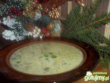 Grzybowa zupa wigilijna