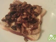 grzybowe tosty