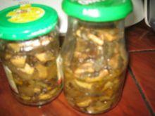grzyby w sosie własnym