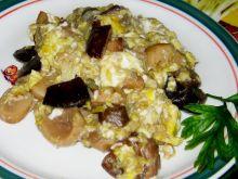 Grzyby zasmażane z jajkiem