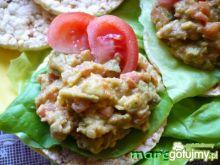 Guacamole na waflach