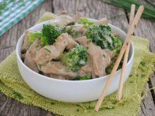Gulasz cielęcy z brokułami