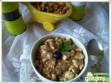 Gulasz drobiowo-kurkowy z borówkową nutą