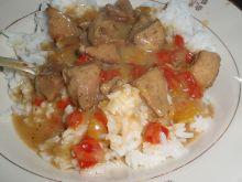 Gulasz paprykowy z kurczakiem