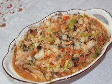 Gulasz rybno-warzywny