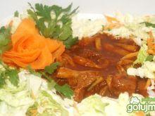 Gulasz wieprzowy z fasolką szparagową
