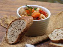 Gulasz z fasoli i warzyw