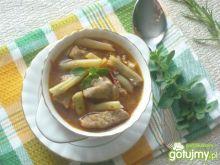 Gulasz z fasolką szparagową