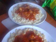 gulasz z indyka na small macaroni