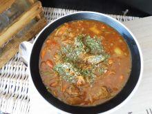 Gulasz z mięsa wołowego po chińsku