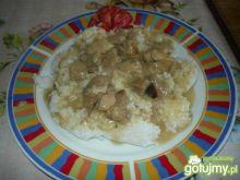Gulasz z ryżem