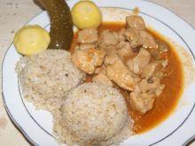 Gulasz z szynki wieprzowej, prosty i smaczny