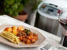 Gulasz z ziemniakami i fasolką szparagową