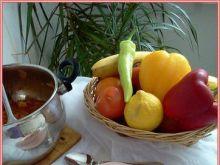 Gulasz z ziemniakami i warzywami