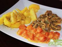Gulasz z żołądków w sosie marchewkowym